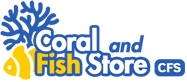 Coral and fish logo